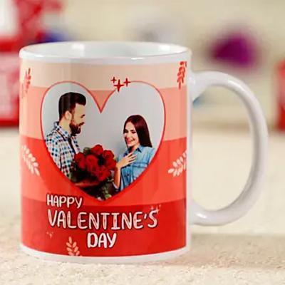 Happy Valentines Personalised Mug