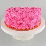 Dreamy-pink-chocolate-half-cake