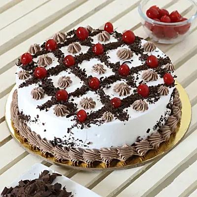Zig Zag Black Forest Cake