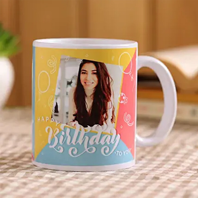 Personalised Birthday Girl Mug