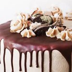 Chocolate Caramel Fudge Cake Half Kg