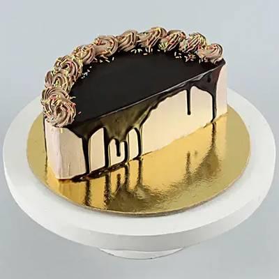 Chocolate Sprinkles Half Cake- 500 Gms