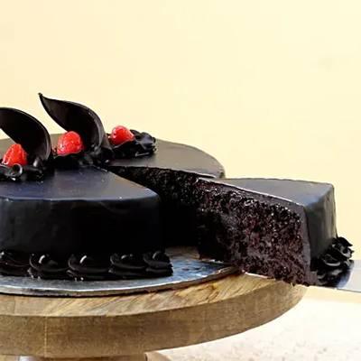 Chocolate Truffle Delicious Cake Half Kg