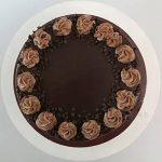 Cream Drop Chocolate Cake Half Kg
