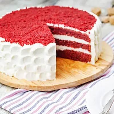 Creamy Red Velvet Cake Half Kg