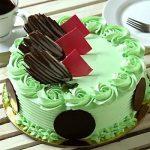 Mint mojito cake -half kg