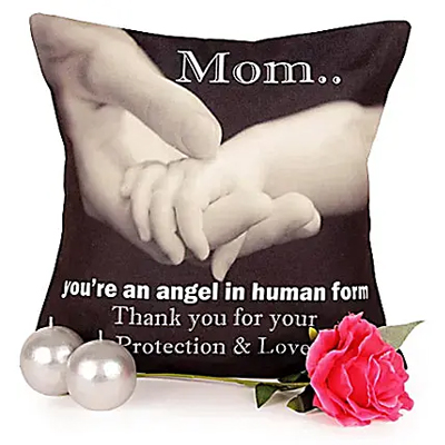 Brighter Wishes For Mother cushion