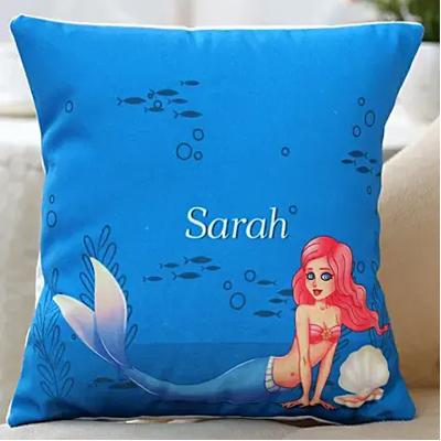 Little Mermaid Personalised Cushion