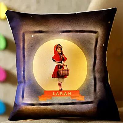 Red Riding Hood Personalised LED Cushion