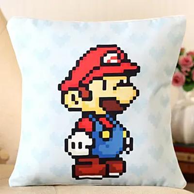 Super Mario Printed Cushion