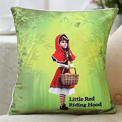 Red Riding Hood Printed Cushion