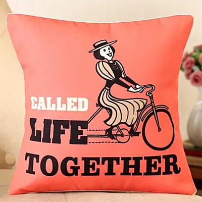 Life Together Printed Cushion