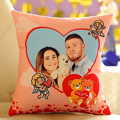 Love You Personalised Cushion