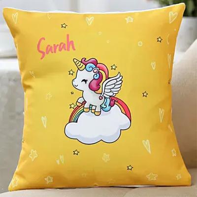 Magical Unicorn Personalised Cushion