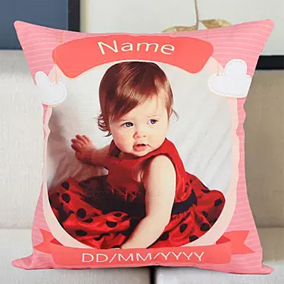 Personalized Little Angel Cushion