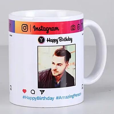 Personalised Instagram Birthday Mug