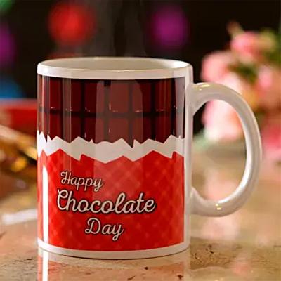 Chocolate Day Wishes Mug