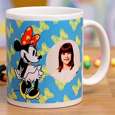 Quirky Minnie Mouse Personalised Mug