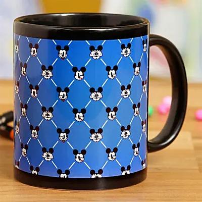 Expressive Mickey Printed Mug