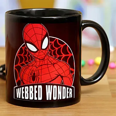 Webbed Wonder Spiderman Mug