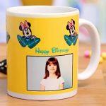 Birthday Minnie Mouse Personalised Mug