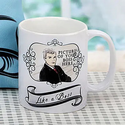 Like a Boss Personalized Mug