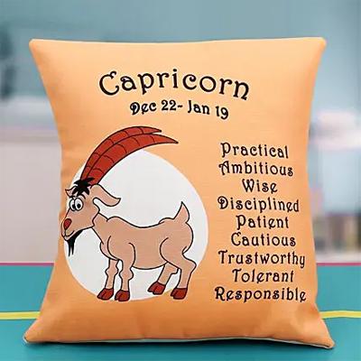 Wisdom of the Capricorn cushion