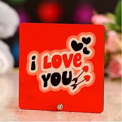 Elegant Love You Table Top