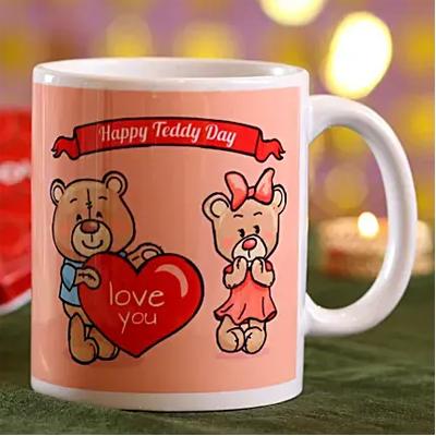 Happy Teddy Day Mug