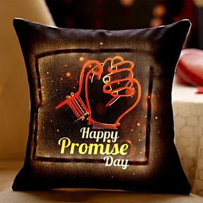 Promise Day LED Cushion