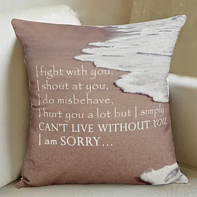 Surrendering You cushion