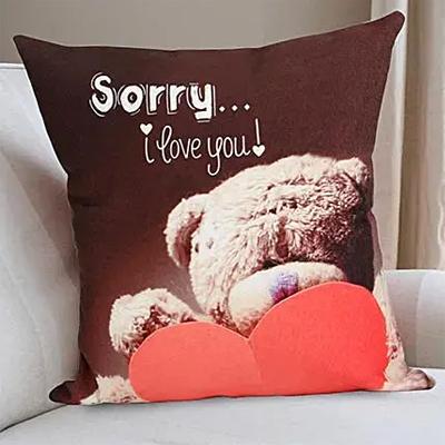 Forgive Me Soon cushion