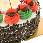 Cherry Toppings Black Forest Cake