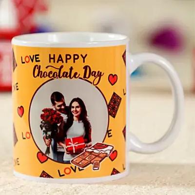 Happy Chocolate Day Personalised Mug