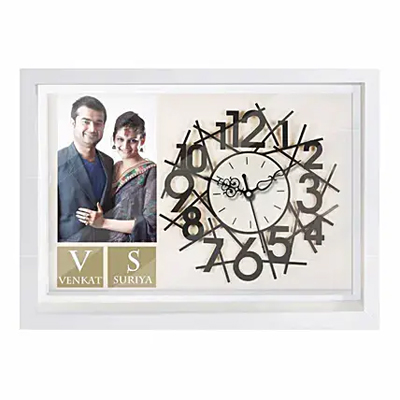 Personalised Couple Wall Clock