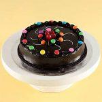 Swirl Of Gems Truffle Cake Half Kg