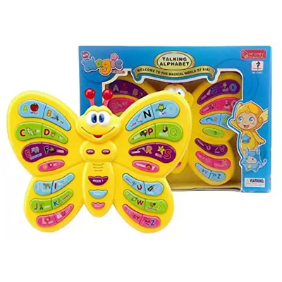 YAMAMA Magic Talking Alphabet Butterfly for Kids